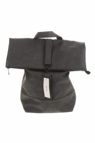 Plecak Urban Outfitters, Kolor Czarny, Eko skóra, Cena 93,45zł