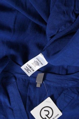 Рокля Culture, Размер M, Цвят Син, 55% вискоза, 45% лен, Цена 64,50лв.