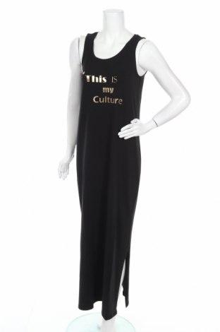 Рокля Culture, Размер M, Цвят Черен, 95% памук, 5% еластан, Цена 62,30лв.