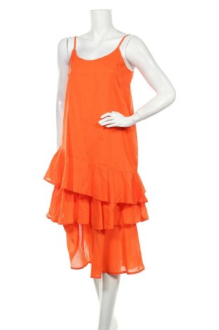 Рокля Culture, Размер M, Цвят Оранжев, Памук, Цена 62,30лв.