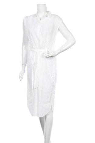 Рокля Culture, Размер M, Цвят Бял, Памук, Цена 55,30лв.