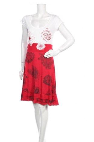 Φόρεμα Desigual, Μέγεθος L, Χρώμα Πολύχρωμο, Βισκόζη, Τιμή 21,31€