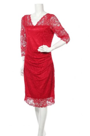Φόρεμα Kaffe, Μέγεθος XL, Χρώμα Κόκκινο, Τιμή 61,47€