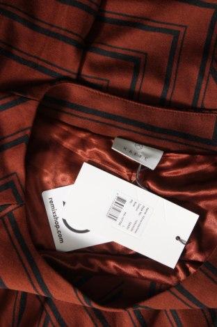Φόρεμα Kaffe, Μέγεθος L, Χρώμα Καφέ, 80% πολυεστέρας, 17% βισκόζη, 3% ελαστάνη, Τιμή 49,87€
