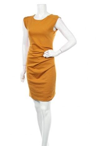 Φόρεμα Kaffe, Μέγεθος S, Χρώμα Κίτρινο, 80% πολυεστέρας, 17% βισκόζη, 3% ελαστάνη, Τιμή 57,60€