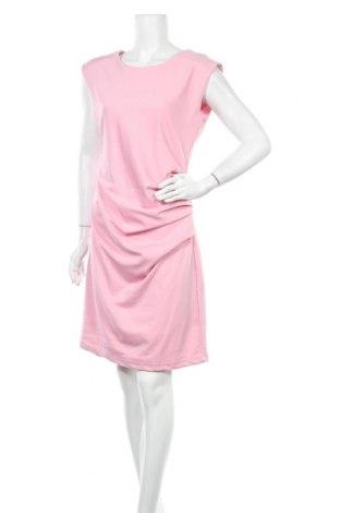 Φόρεμα Kaffe, Μέγεθος L, Χρώμα Ρόζ , 80% πολυεστέρας, 17% βισκόζη, 3% ελαστάνη, Τιμή 57,60€
