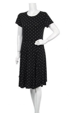Φόρεμα Kaffe, Μέγεθος M, Χρώμα Μαύρο, 95% βισκόζη, 5% ελαστάνη, Τιμή 53,74€