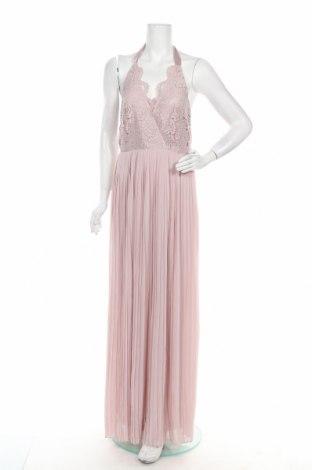 Рокля TFNC London, Размер M, Цвят Розов, Полиестер, Цена 98,45лв.