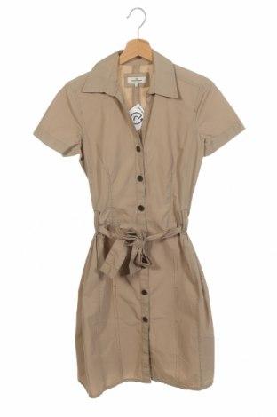 Φόρεμα Tom Tailor, Μέγεθος XS, Χρώμα  Μπέζ, Βαμβάκι, Τιμή 8,87€