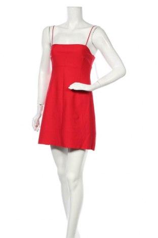 Rochie Urban Outfitters, Mărime M, Culoare Roșu, 65% viscoză, 31% poliamidă, 4% elastan, Preț 103,95 Lei