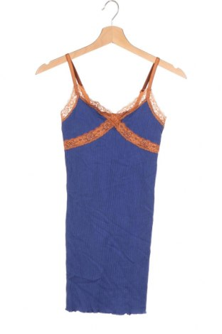 Рокля Urban Outfitters, Размер XS, Цвят Син, 70% модал, 25% полиамид, 5% еластан, Цена 48,00лв.