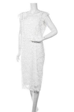 Рокля Wal G, Размер XL, Цвят Бял, 65% полиестер, 30% памук, 5% еластан, Цена 92,95лв.