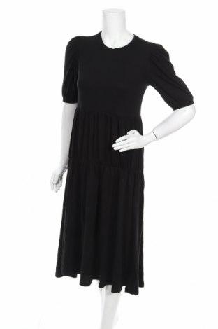 Rochie Zara, Mărime S, Culoare Negru, Bumbac, Preț 124,83 Lei