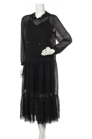Rochie Zara, Mărime M, Culoare Negru, Poliester, Preț 259,87 Lei