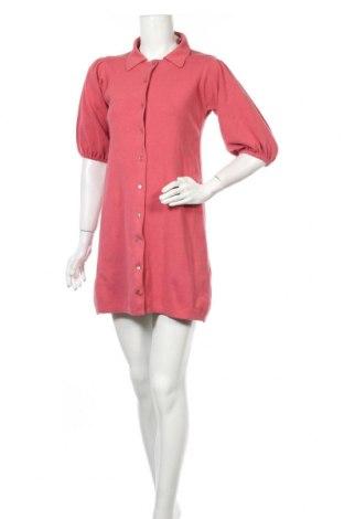 Φόρεμα Zara, Μέγεθος S, Χρώμα Ρόζ , 77% βαμβάκι, 21% πολυαμίδη, 2% ελαστάνη, Τιμή 9,60€