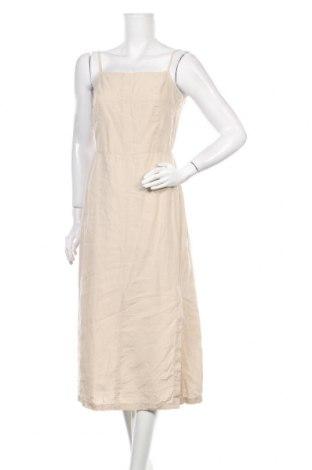 Φόρεμα i Blues, Μέγεθος M, Χρώμα  Μπέζ, Λινό, Τιμή 25,61€