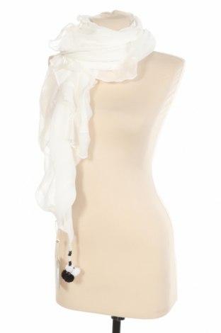 Шал Cream, Цвят Бял, Полиестер, Цена 21,07лв.