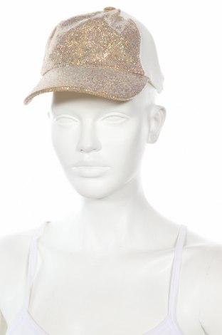 Čepice  Guess, Barva Zlatistá, 70% bavlna, 30% polyester, Cena  383,00Kč