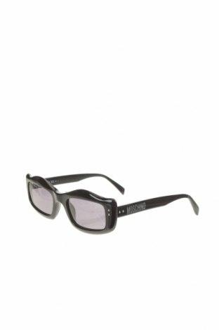 Ochelari de soare Moschino, Culoare Negru, Preț 606,91 Lei