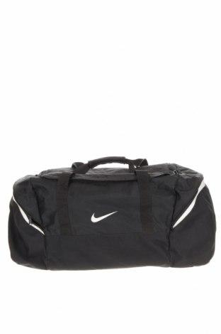 Τσάντα ταξιδίου Nike, Χρώμα Μαύρο, Κλωστοϋφαντουργικά προϊόντα, Τιμή 27,77€