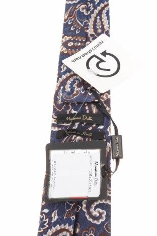 Вратовръзка Massimo Dutti, Цвят Многоцветен, Коприна, Цена 44,25лв.
