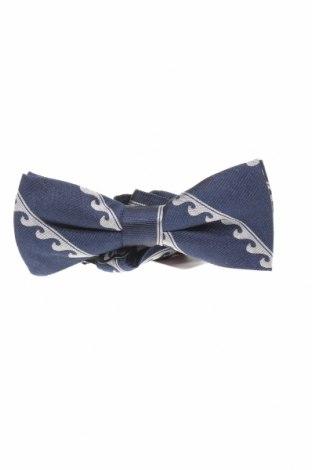 Вратовръзка Massimo Dutti, Цвят Син, Коприна, Цена 25,37лв.