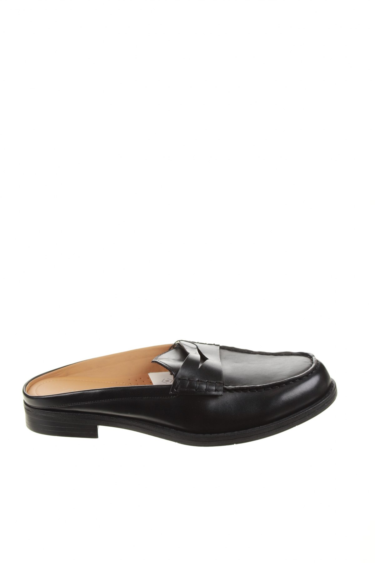 Чехли Zara, Размер 43, Цвят Черен, Еко кожа, Цена 42,72лв.