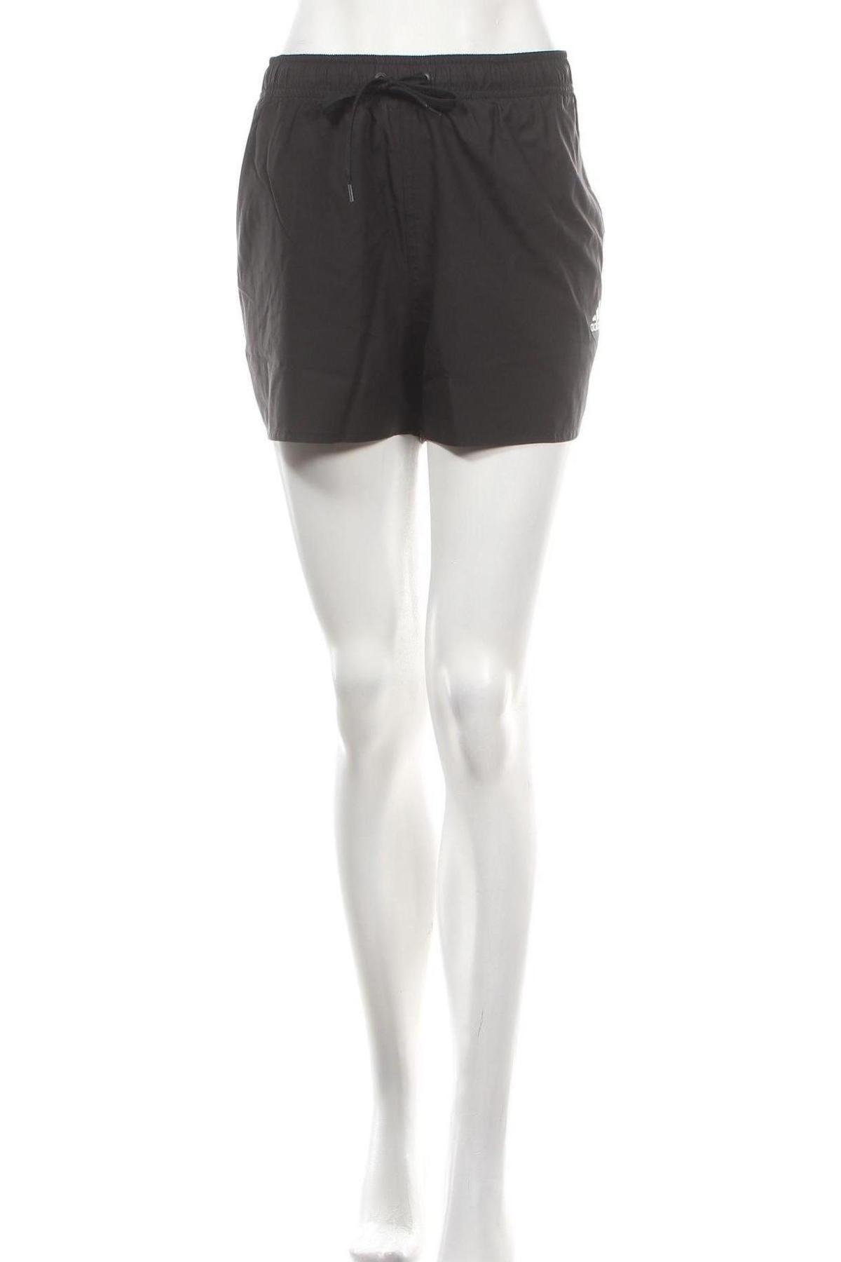 Pantaloni scurți de femei Adidas, Mărime XL, Culoare Negru, Poliester, Preț 145,56 Lei