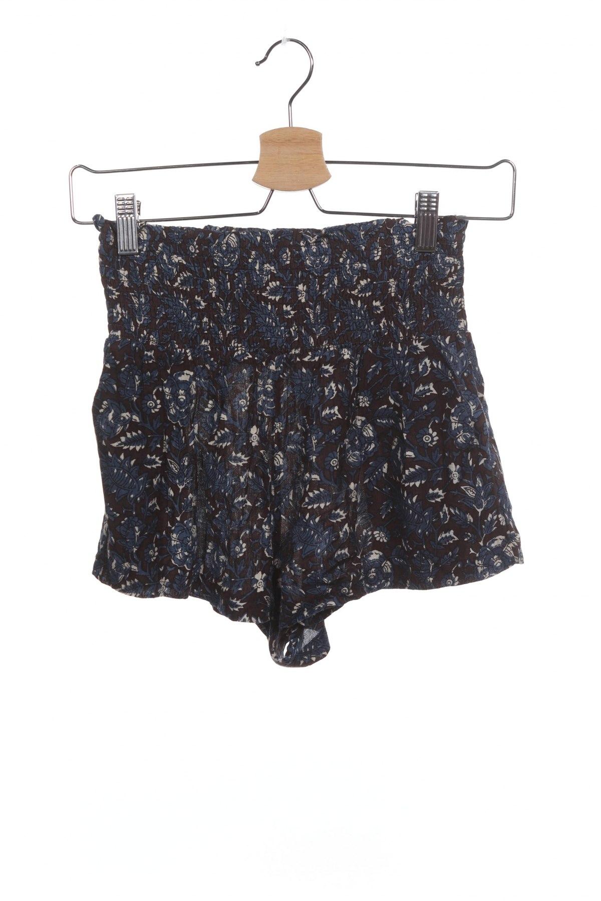 Дамски къс панталон Urban Outfitters, Размер XS, Цвят Многоцветен, Вискоза, Цена 5,36лв.