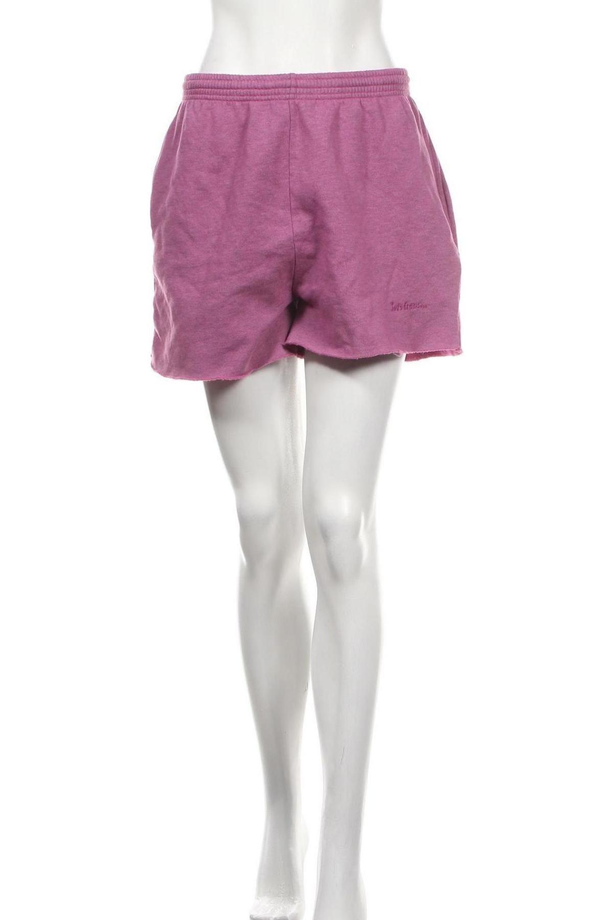 Дамски къс панталон Urban Outfitters, Размер L, Цвят Лилав, 80% памук, 20% полиестер, Цена 16,57лв.