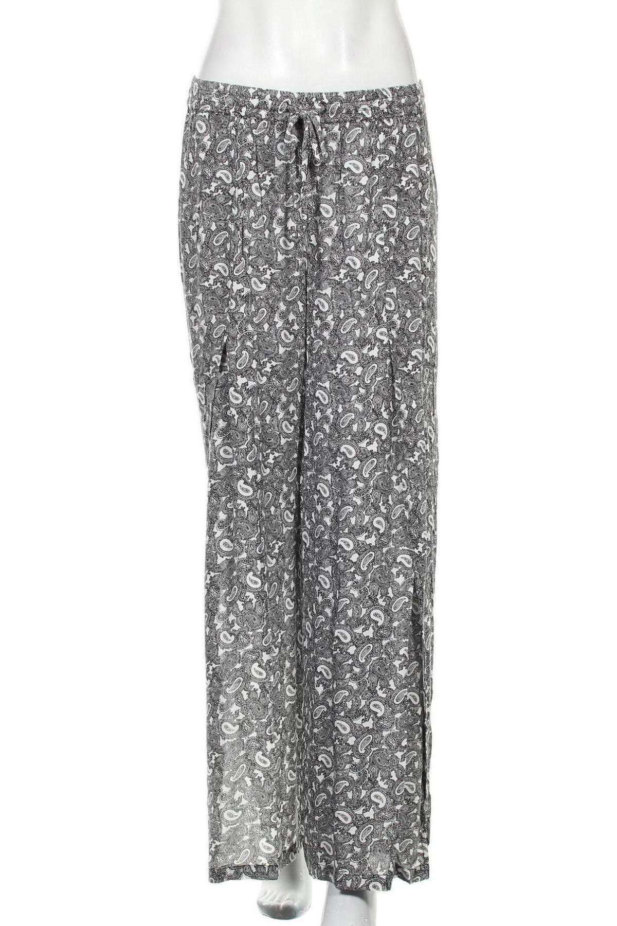 Дамски панталон Cream, Размер M, Цвят Черен, Вискоза, Цена 66,75лв.
