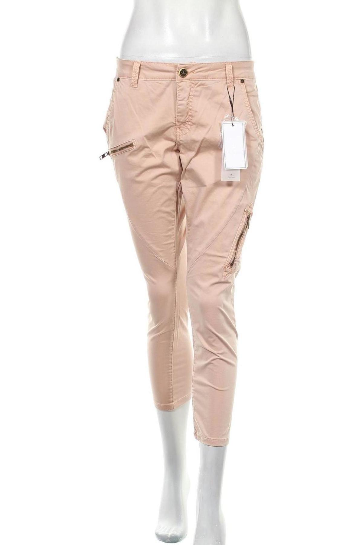 Дамски панталон Culture, Размер M, Цвят Розов, 99% памук, 1% еластан, Цена 96,75лв.
