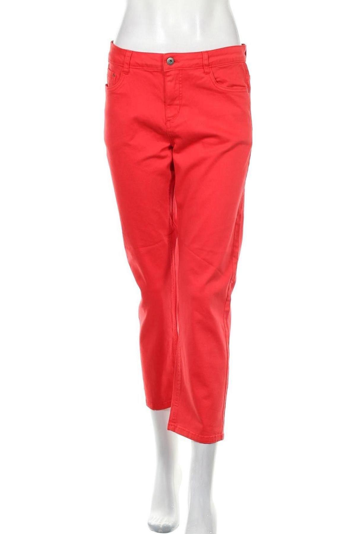 Дамски панталон Kaffe, Размер M, Цвят Червен, Цена 10,84лв.