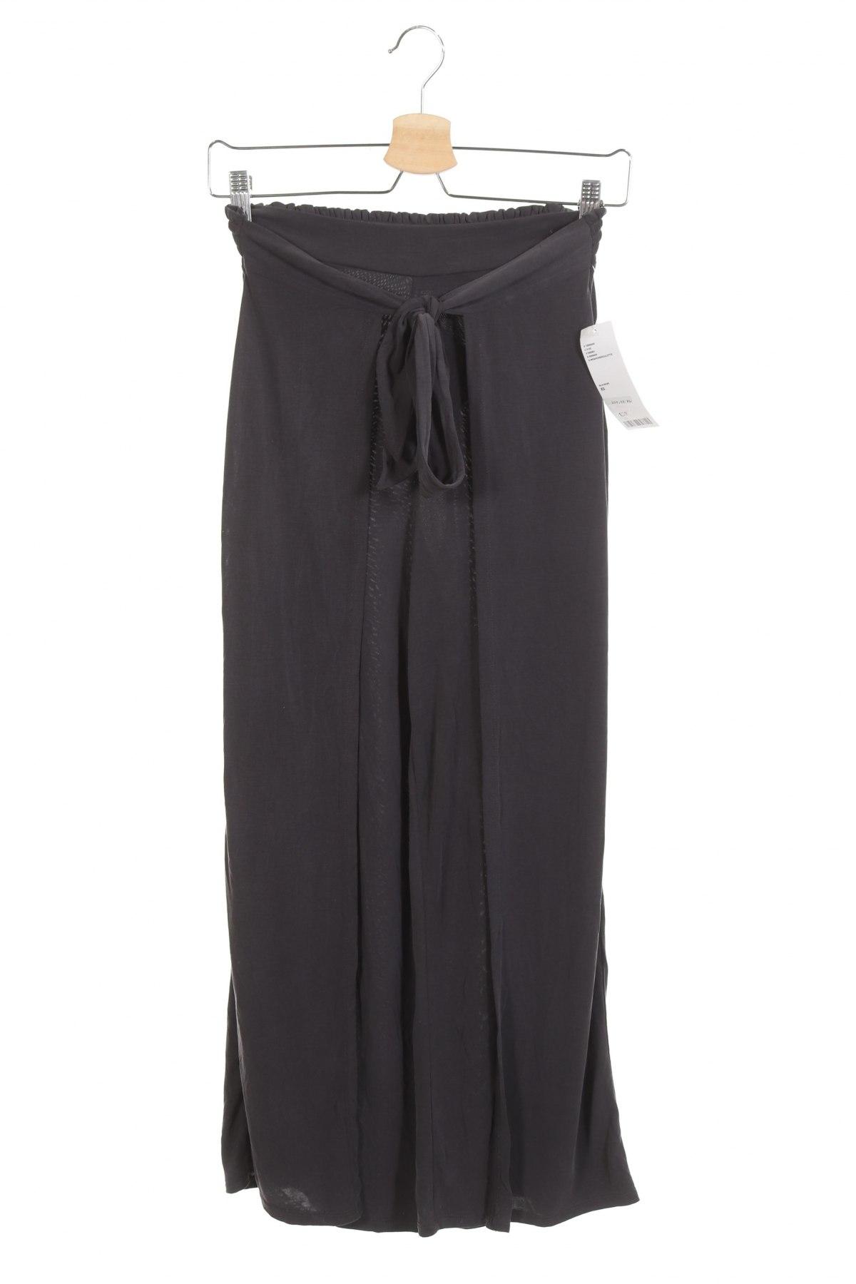 Дамски панталон Urban Outfitters, Размер XS, Цвят Сив, 64% модал, 36% полиестер, Цена 59,25лв.