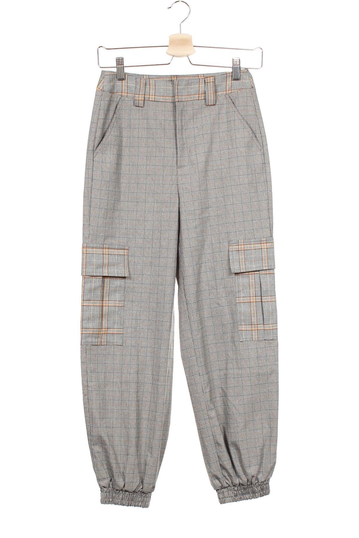 Дамски панталон Urban Outfitters, Размер XS, Цвят Многоцветен, 64% полиестер, 35% вискоза, 1% еластан, Цена 22,08лв.