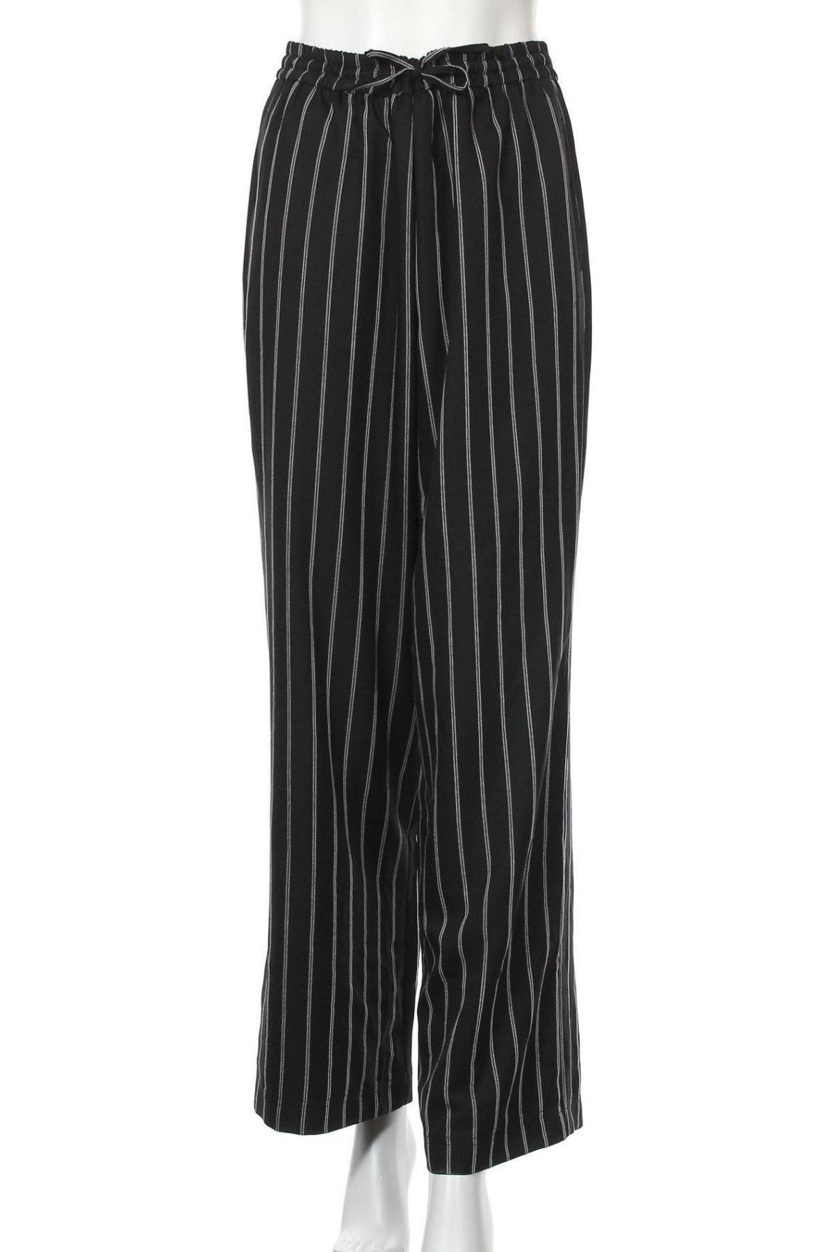 Дамски панталон Urban Outfitters, Размер L, Цвят Черен, 94% полиестер, 6% вискоза, Цена 24,92лв.