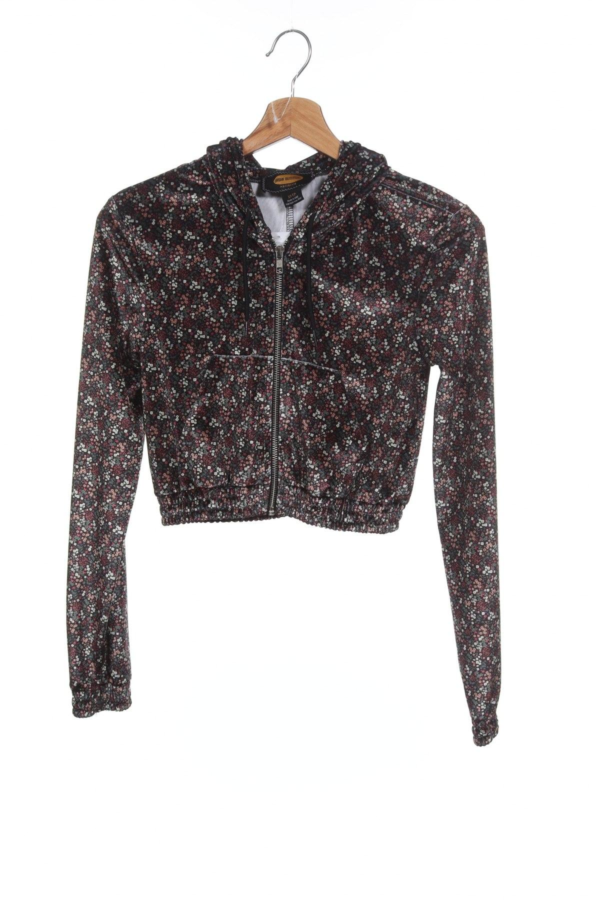 Дамски суичър Urban Outfitters, Размер XS, Цвят Многоцветен, 93% полиестер, 7% еластан, Цена 27,65лв.
