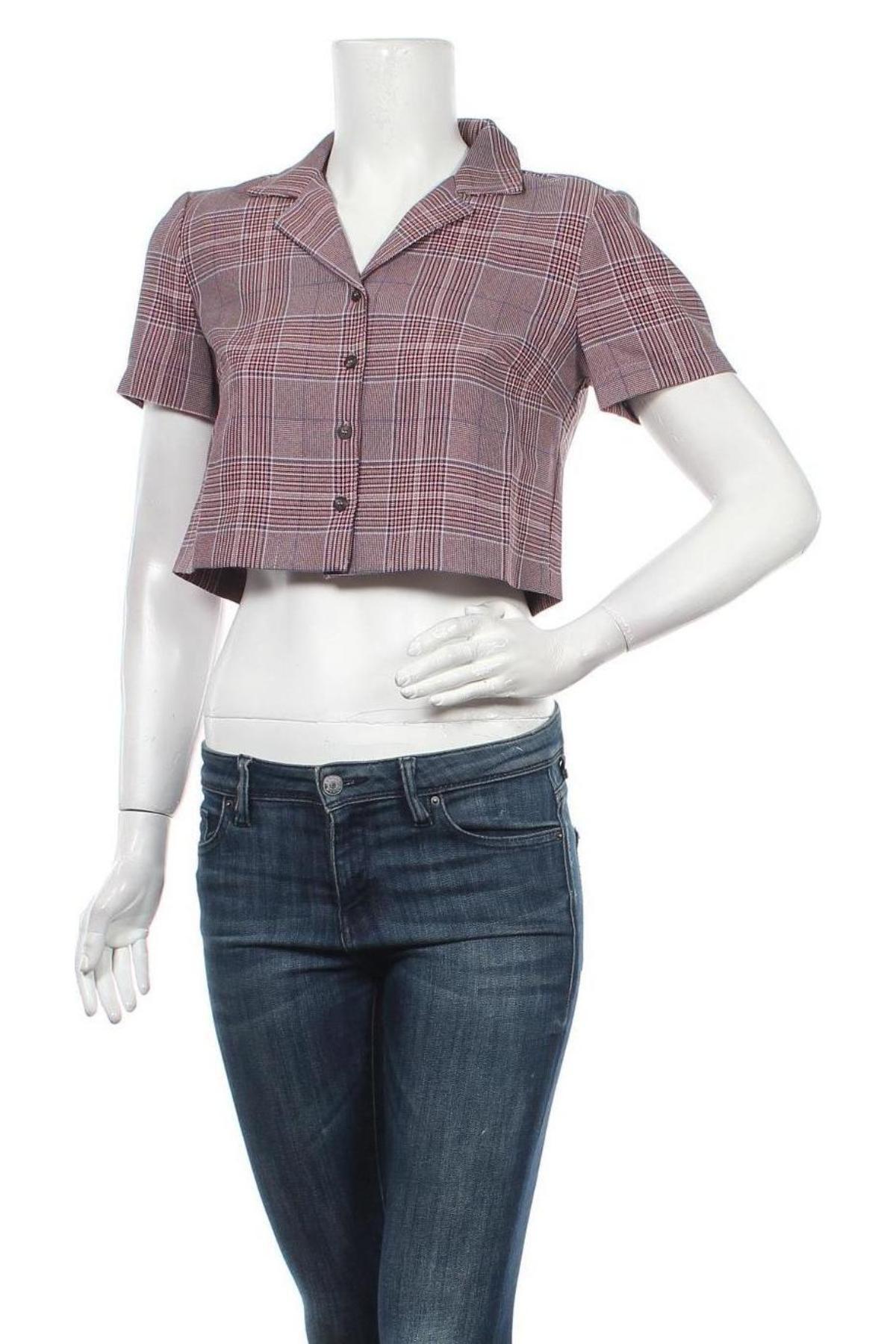 Дамско сако Urban Outfitters, Размер S, Цвят Червен, 96% полиестер, 4% вискоза, Цена 17,38лв.