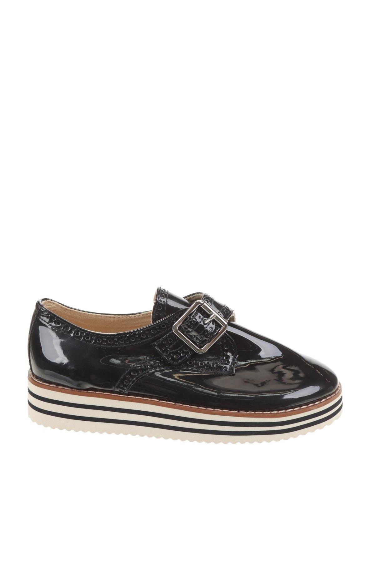 Детски обувки Zara, Размер 32, Цвят Син, Еко кожа, Цена 18,60лв.