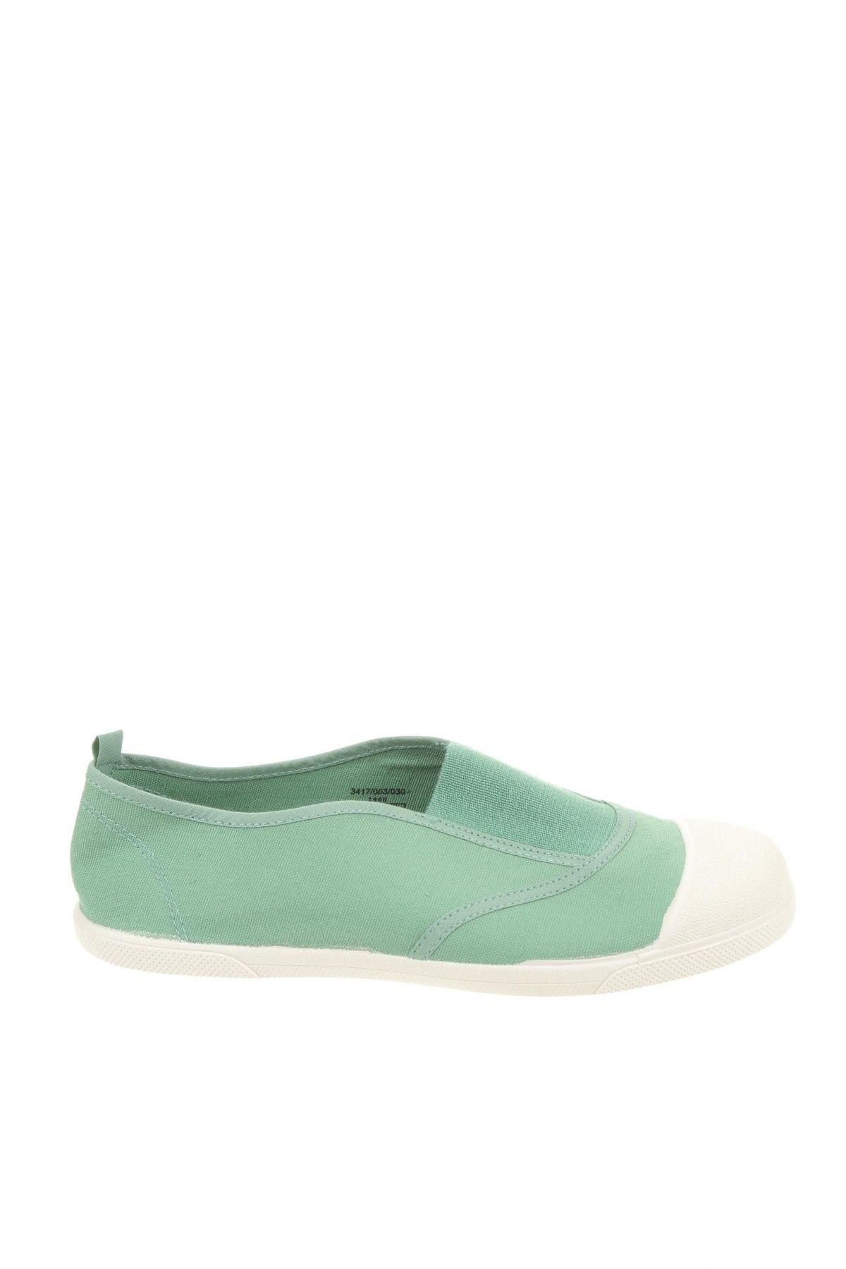Детски обувки Zara, Размер 36, Цвят Зелен, Текстил, Цена 18,90лв.