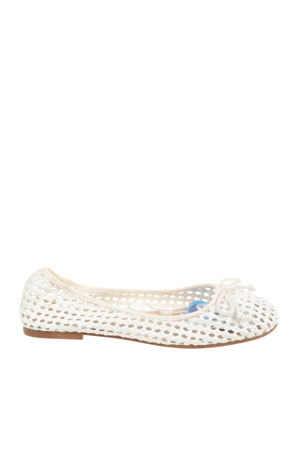 Детски обувки Zara Kids, Размер 32, Цвят Бял, Еко кожа, Цена 14,52лв.