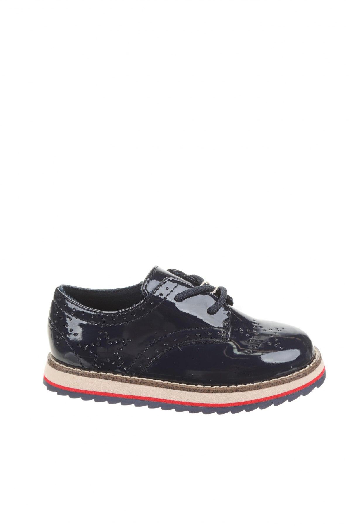 Детски обувки Zara Kids, Размер 24, Цвят Син, Еко кожа, Цена 29,50лв.