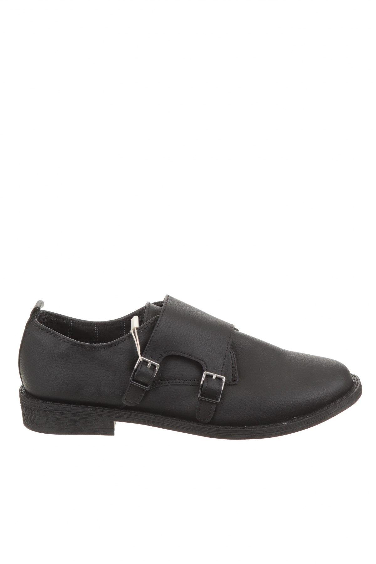 Детски обувки Zara Kids, Размер 38, Цвят Черен, Еко кожа, Цена 26,88лв.
