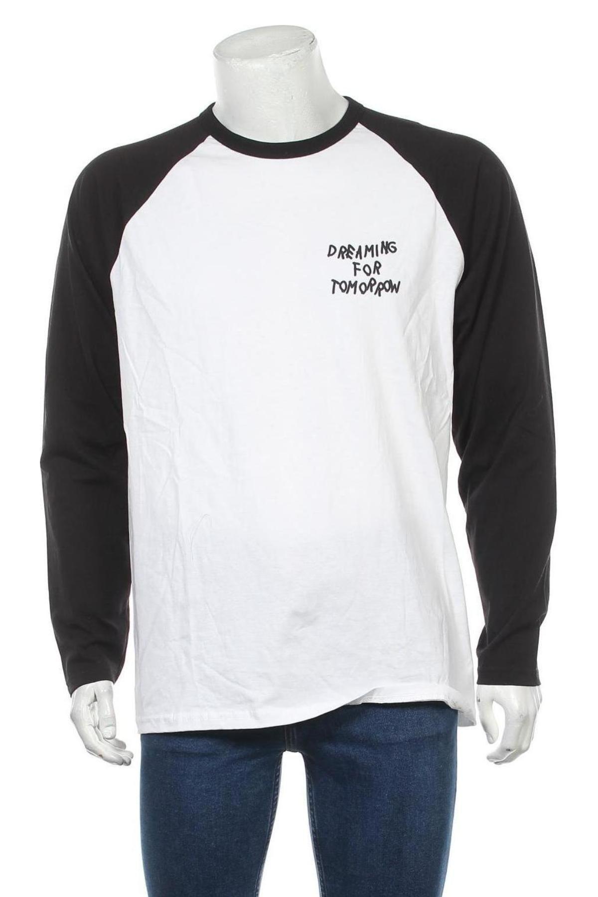 Bluză de bărbați Urban Outfitters, Mărime M, Culoare Alb, Bumbac, Preț 170,23 Lei