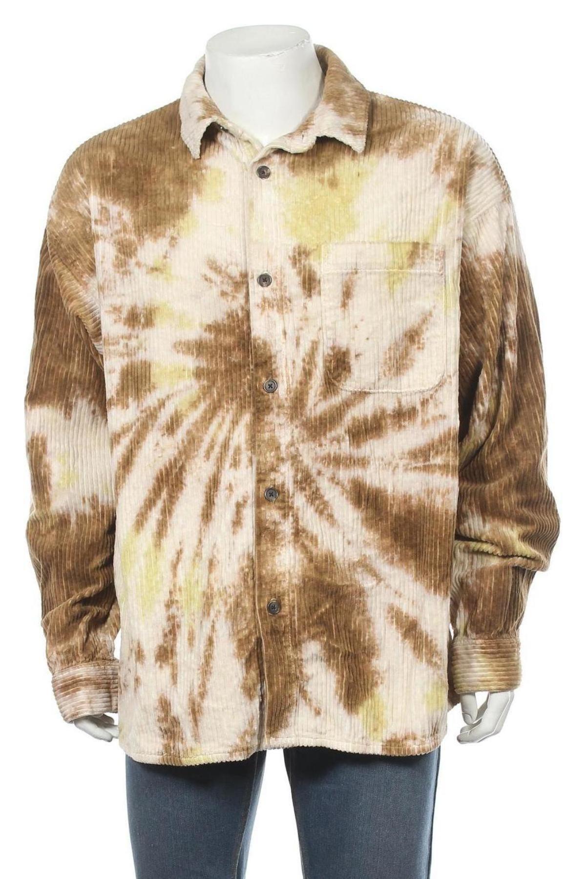 Мъжка риза BDG, Размер XL, Цвят Многоцветен, Памук, Цена 33,47лв.