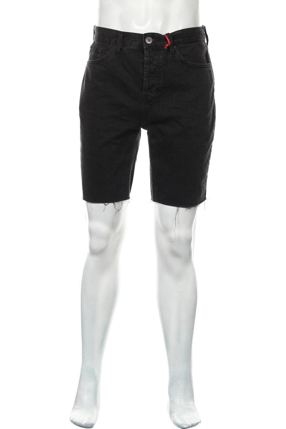 Мъжки къс панталон BDG, Размер M, Цвят Черен, Памук, Цена 33,12лв.