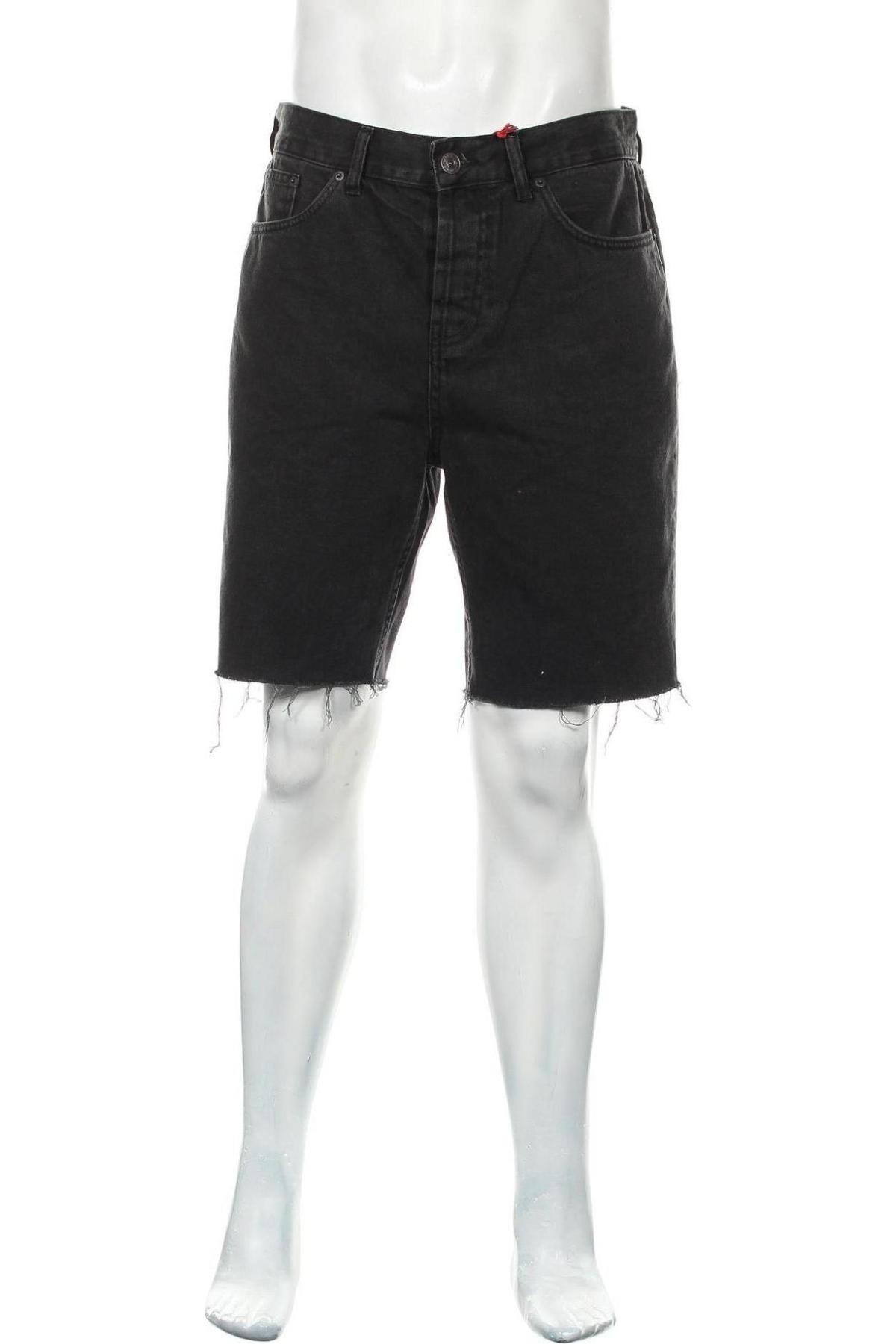 Мъжки къс панталон BDG, Размер L, Цвят Черен, Памук, Цена 29,01лв.