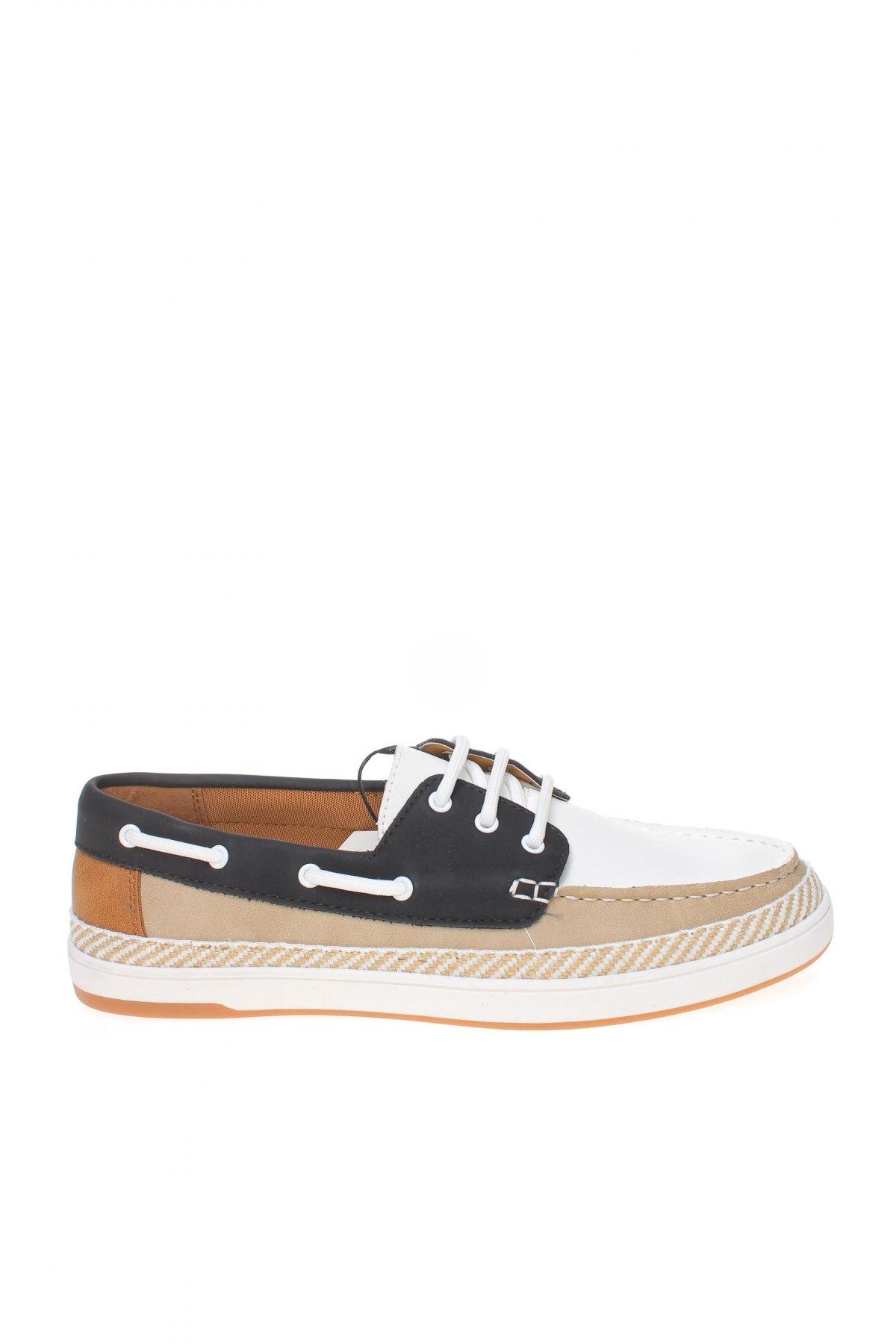 Мъжки обувки Zara, Размер 40, Цвят Многоцветен, Еко кожа, Цена 38,27лв.