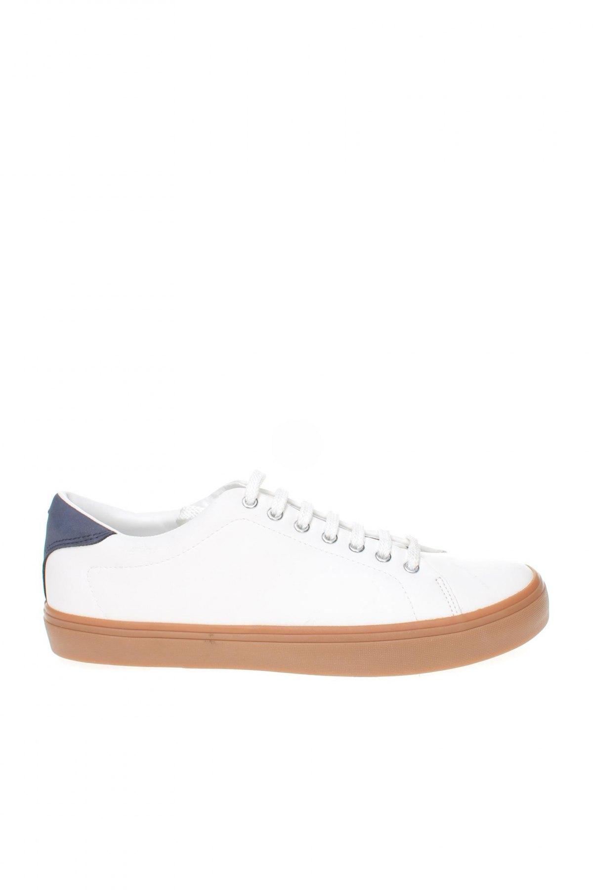 Мъжки обувки Zara, Размер 40, Цвят Бял, Еко кожа, Цена 44,50лв.