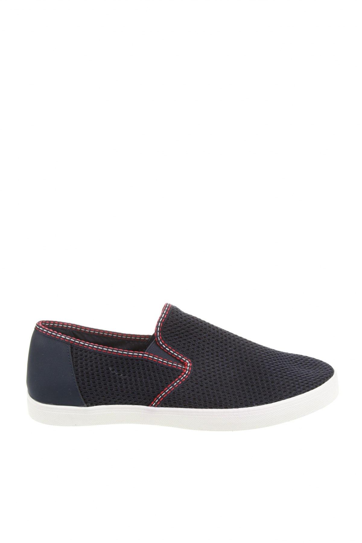 Мъжки обувки Zara, Размер 44, Цвят Син, Текстил, Цена 44,50лв.